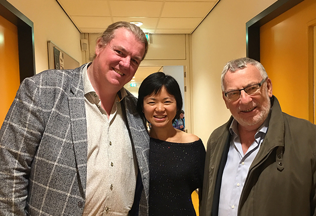 with Raf De Keninck and Lei Wang - Fontys - Tilburg 10.2019